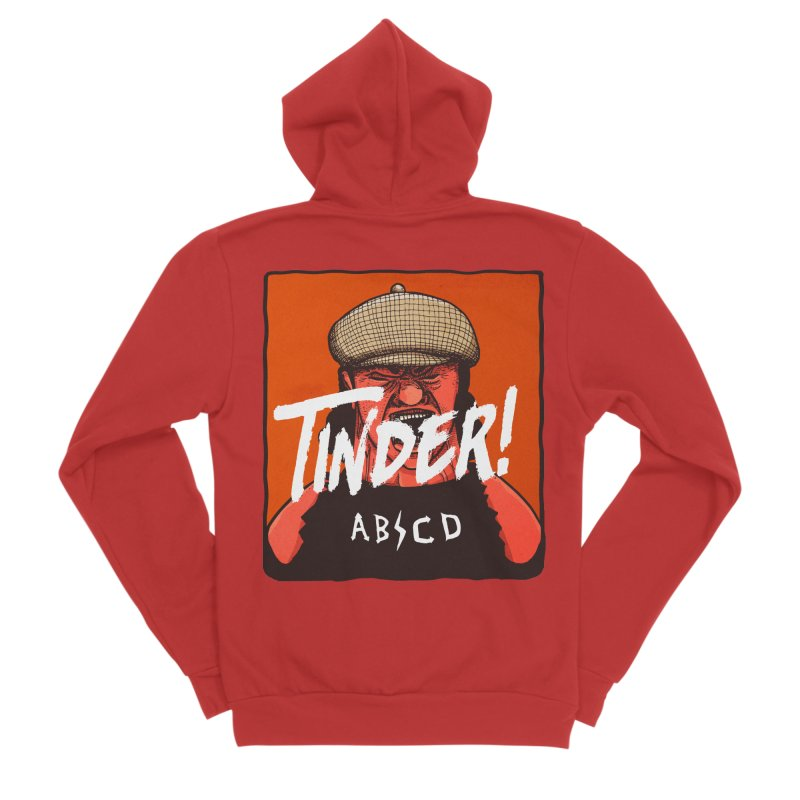 Tinder by ABCD! Women's Sponge Fleece Zip-Up Hoody by leegrace.com