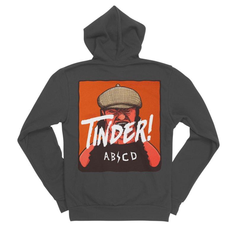 Tinder by ABCD! Women's Sponge Fleece Zip-Up Hoody by leegrace.com