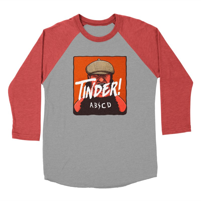 Tinder by ABCD! Men's Baseball Triblend Longsleeve T-Shirt by leegrace.com