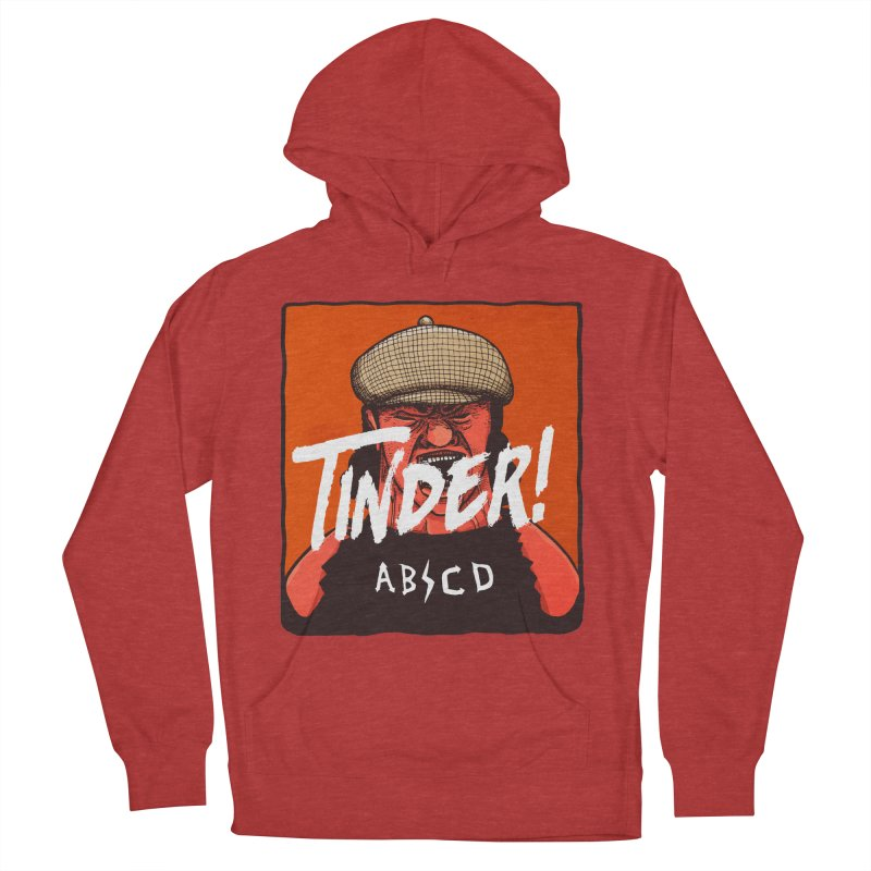 Tinder by ABCD! Men's French Terry Pullover Hoody by leegrace.com