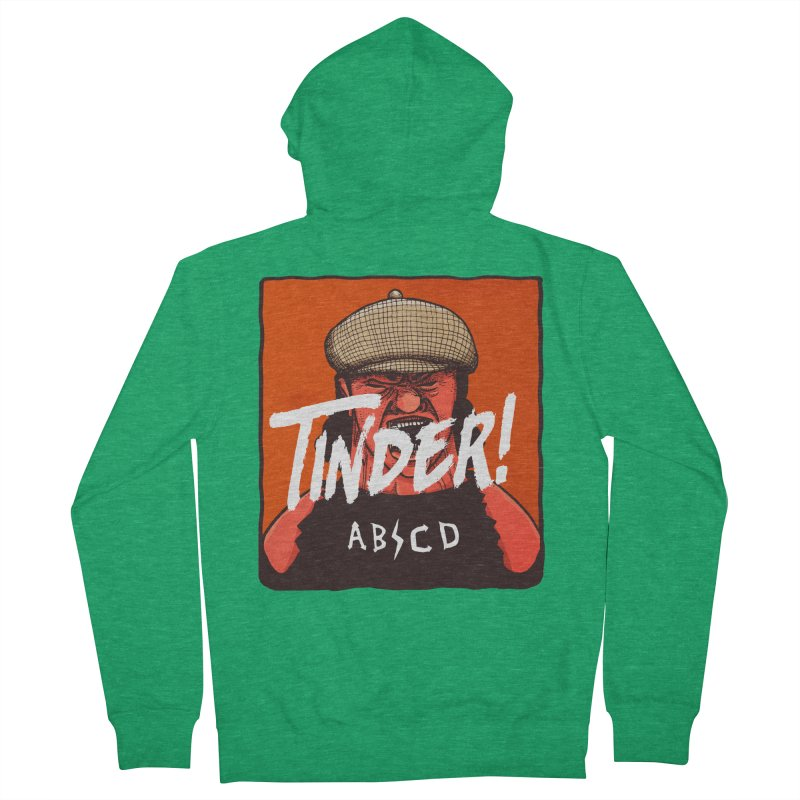 Tinder by ABCD! Women's French Terry Zip-Up Hoody by leegrace.com