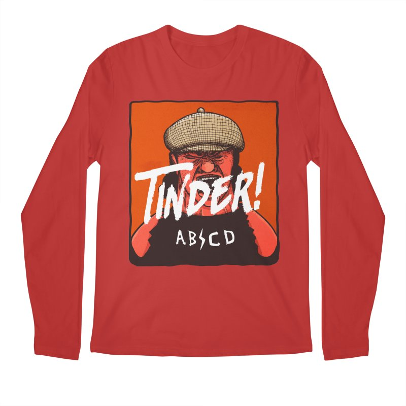 Tinder by ABCD! Men's Regular Longsleeve T-Shirt by leegrace.com