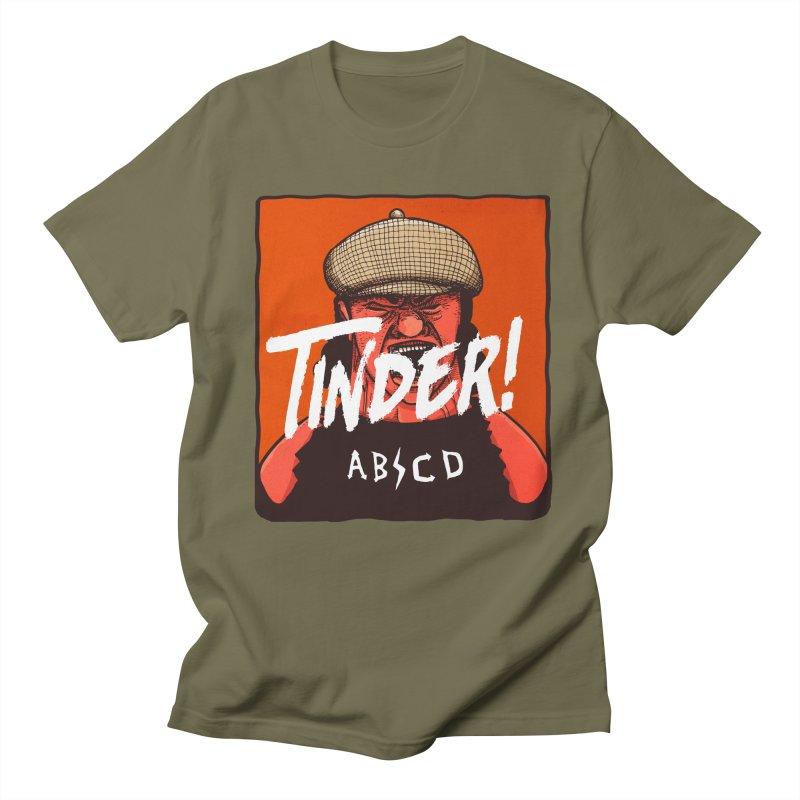 Tinder by ABCD! Men's Regular T-Shirt by leegrace.com