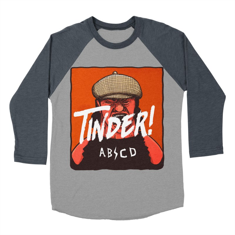 Tinder by ABCD! Men's Baseball Triblend Longsleeve T-Shirt by leegrace.com
