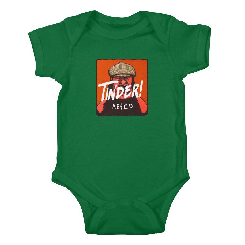 Tinder by ABCD! Kids Baby Bodysuit by leegrace.com