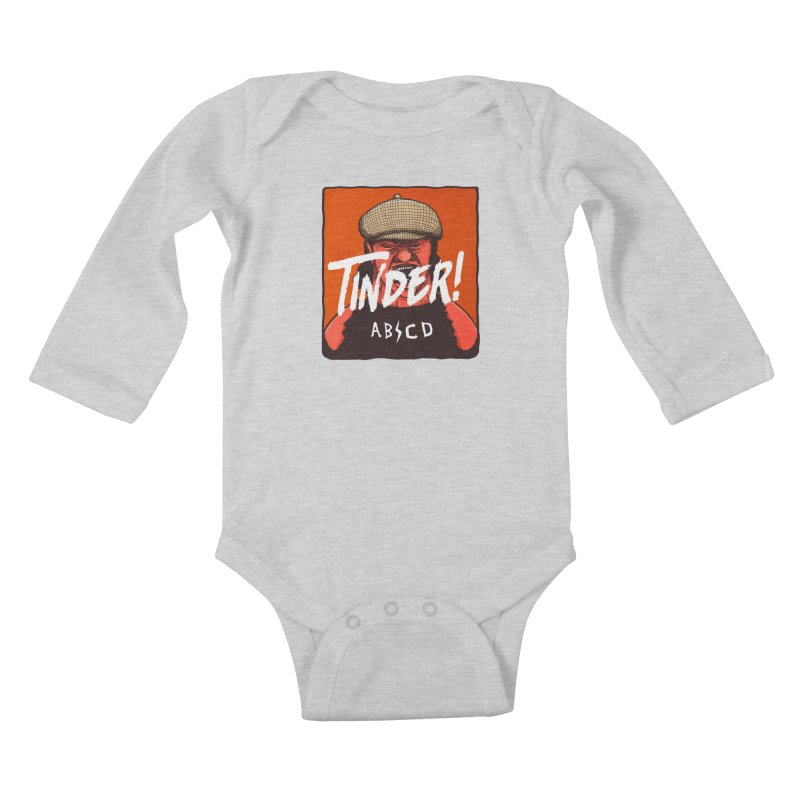Tinder by ABCD! Kids Baby Longsleeve Bodysuit by leegrace.com