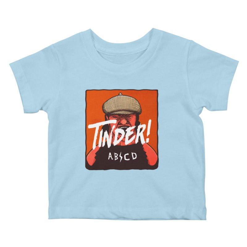 Tinder by ABCD! Kids Baby T-Shirt by leegrace.com