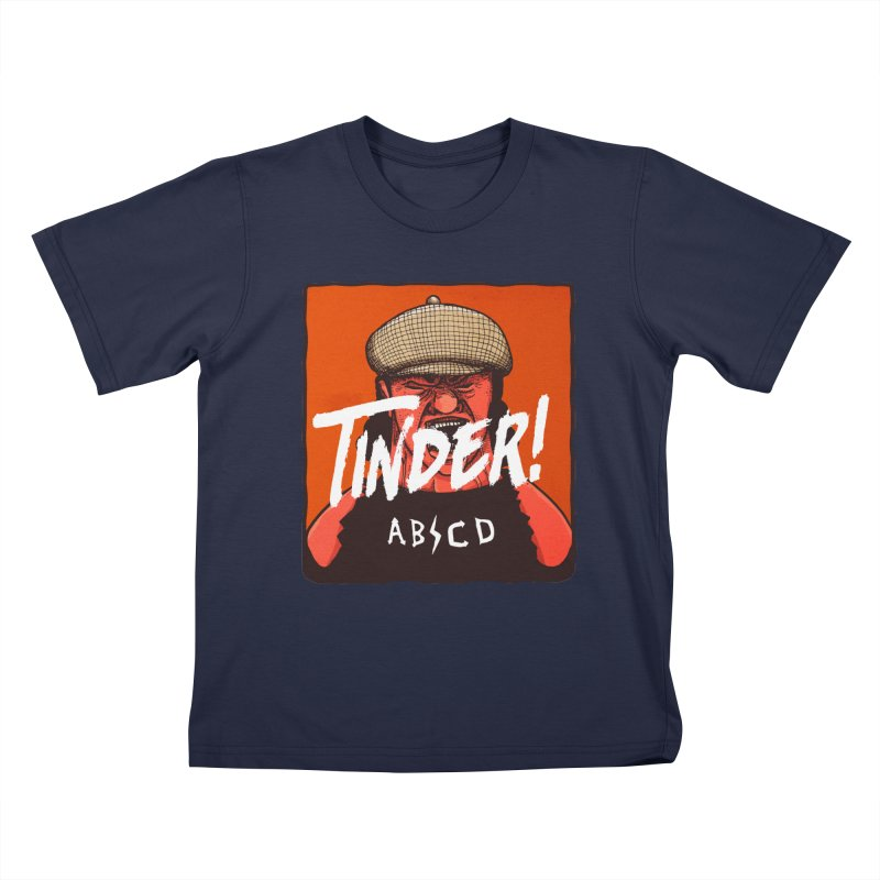 Tinder by ABCD! Kids T-Shirt by leegrace.com