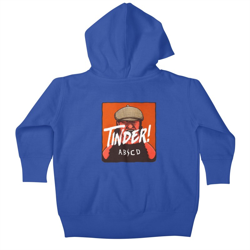 Tinder by ABCD! Kids Baby Zip-Up Hoody by leegrace.com