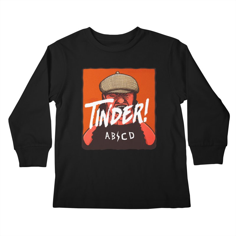 Tinder by ABCD! Kids Longsleeve T-Shirt by leegrace.com
