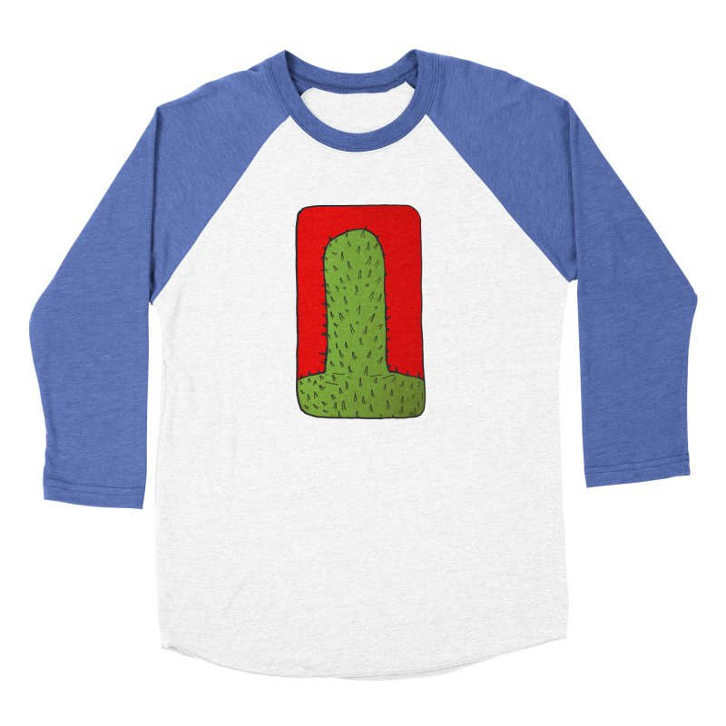 Prickly Women's Baseball Triblend Longsleeve T-Shirt by leegrace.com