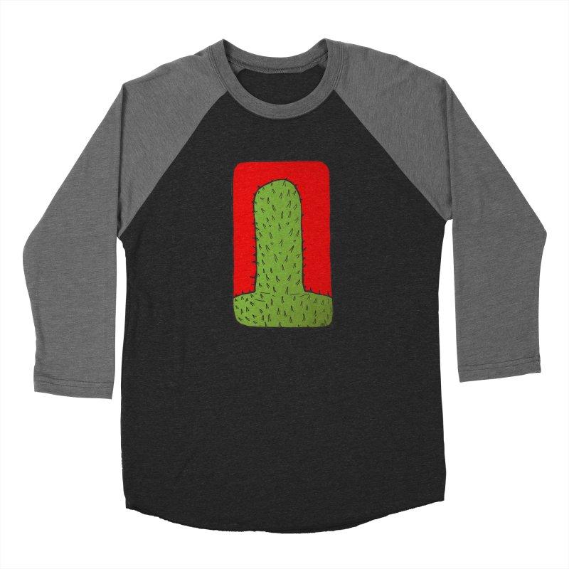 Prickly Men's Baseball Triblend Longsleeve T-Shirt by leegrace.com