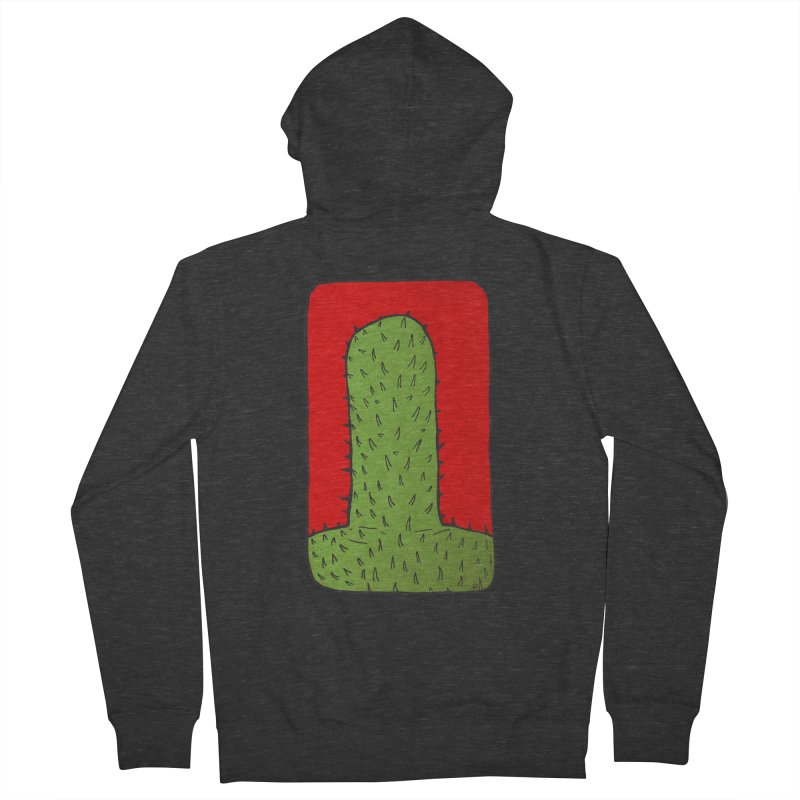 Prickly Men's French Terry Zip-Up Hoody by leegrace.com