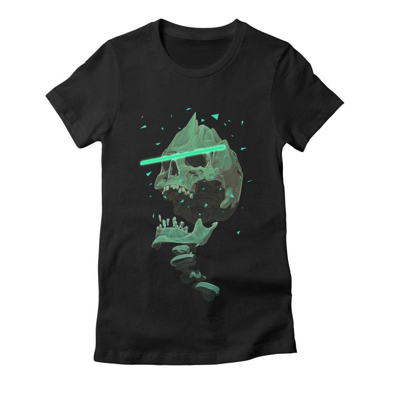 Green Nuclear 80's Skull   by Lee Petty Art Stuff!