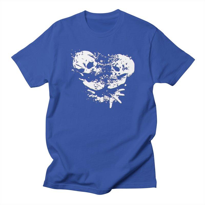 Binary Star - White Ink Men's T-Shirt by Lee Petty Art Stuff!