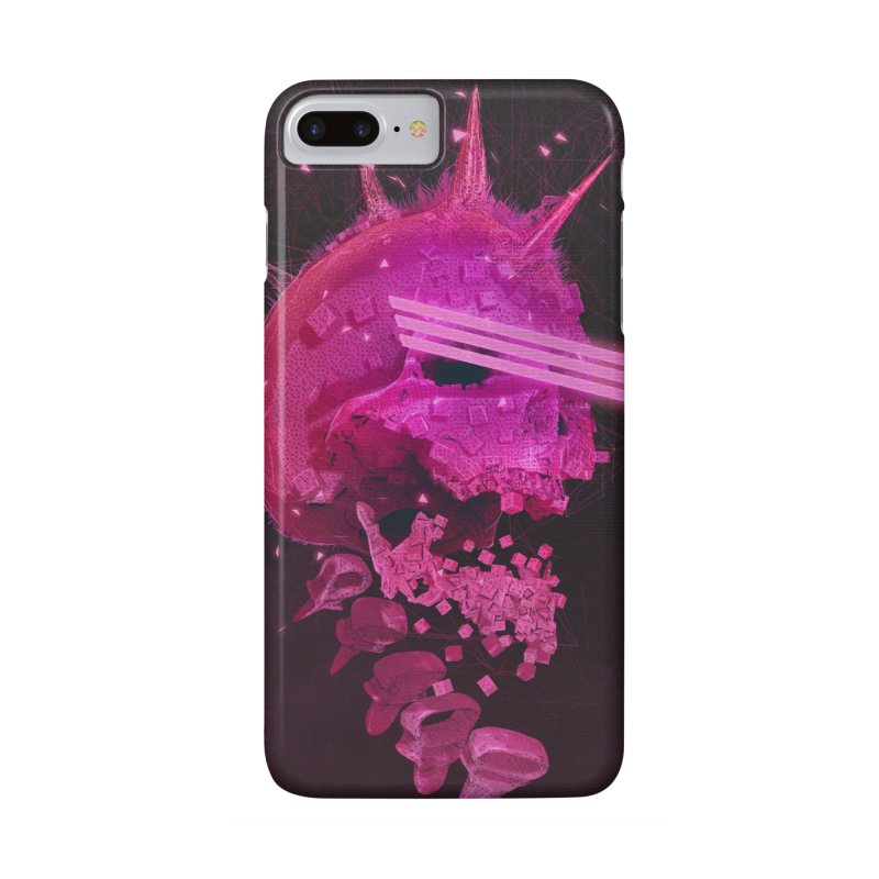 Pink Skull Phone Case Accessories Phone Case by Lee Petty Art Stuff!
