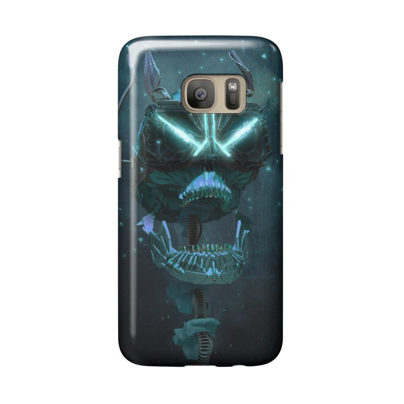 VR Skull Accessories Phone Case by Lee Petty Art Stuff!