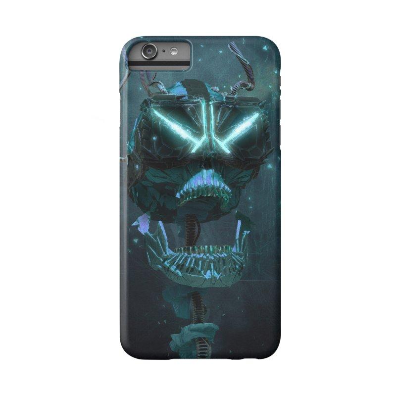 VR Skull Accessories Phone Case by Lee Petty Art Stuff!
