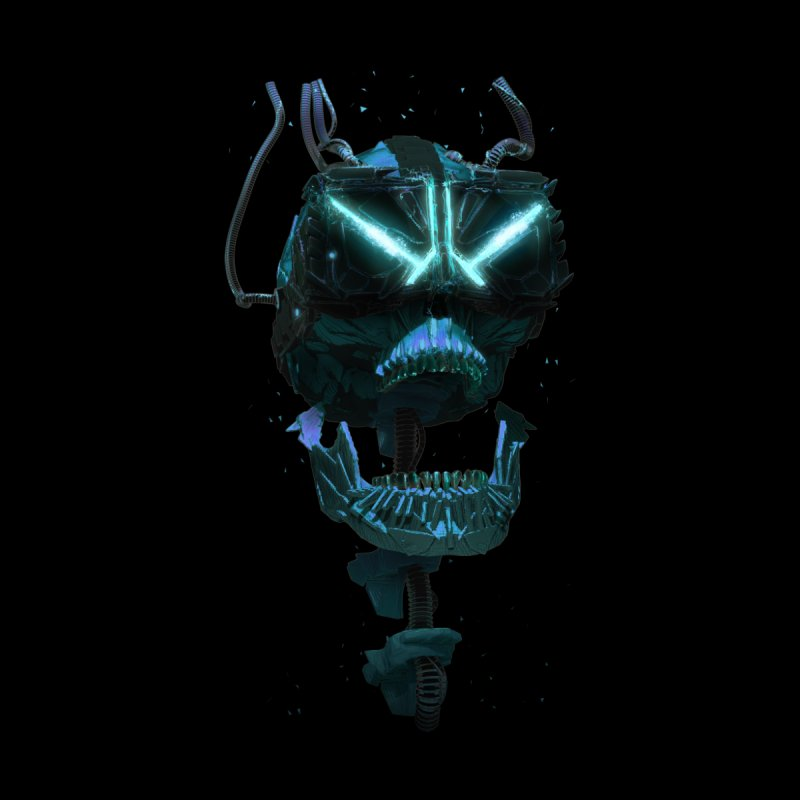 VR Skull   by Lee Petty Art Stuff!