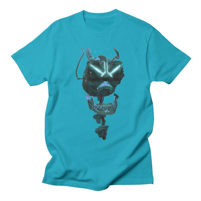 VR Skull Women's T-Shirt by Lee Petty Art Stuff!