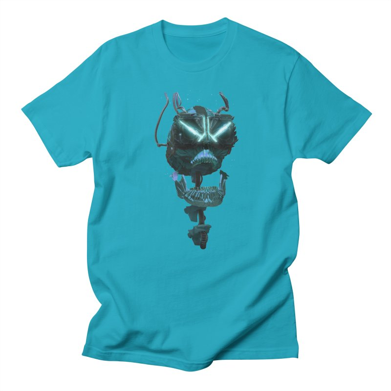 VR Skull Women's T-Shirt by Lee Petty Art Stuff!