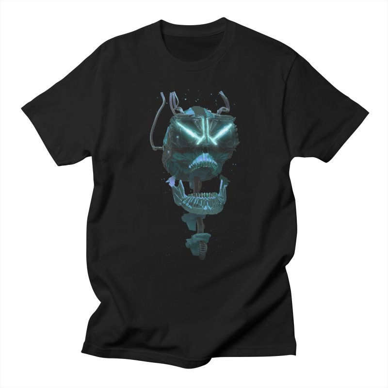 VR Skull Women's Regular Unisex T-Shirt by Lee Petty Art Stuff!