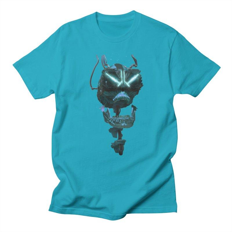 VR Skull Women's Unisex T-Shirt by Lee Petty Art Stuff!