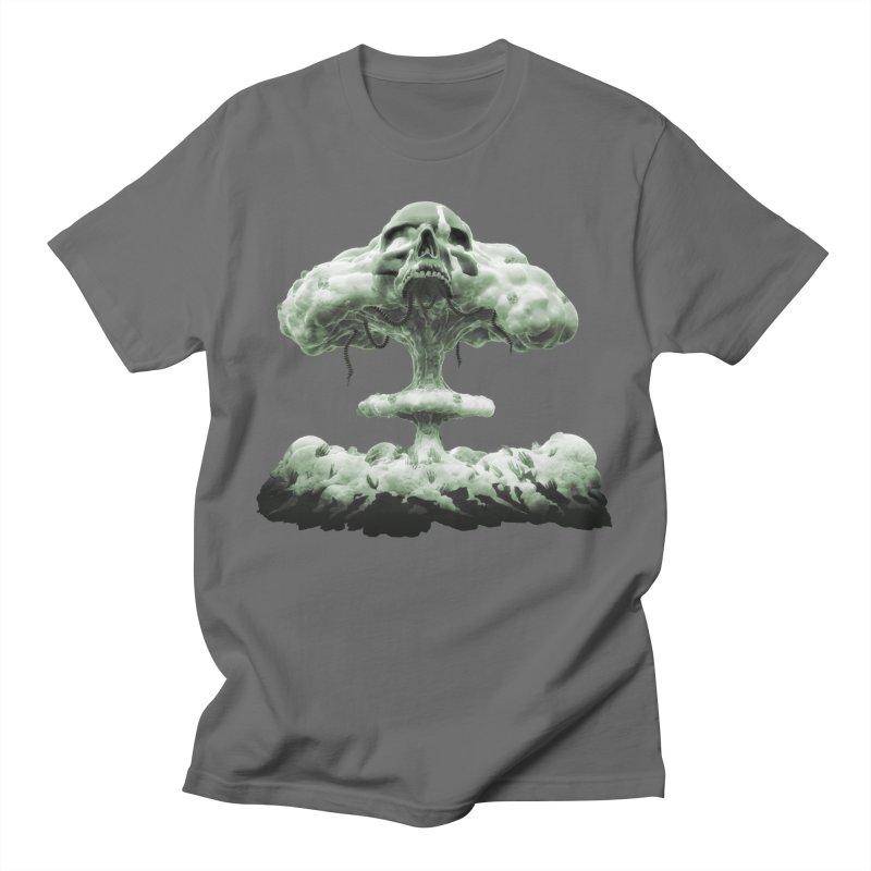 Nuclear Skull Cloud Men's T-Shirt by Lee Petty Art Stuff!