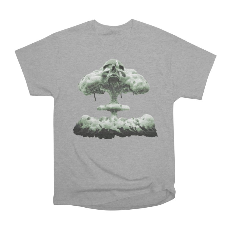 Nuclear Skull Cloud Men's T-Shirt by Lee Petty Art Stuff!