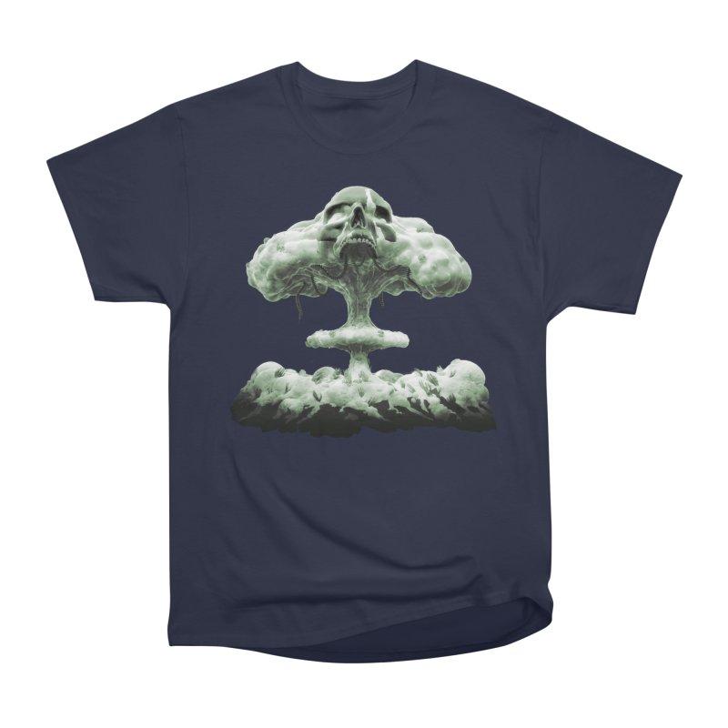 Nuclear Skull Cloud Women's Classic Unisex T-Shirt by Lee Petty Art Stuff!