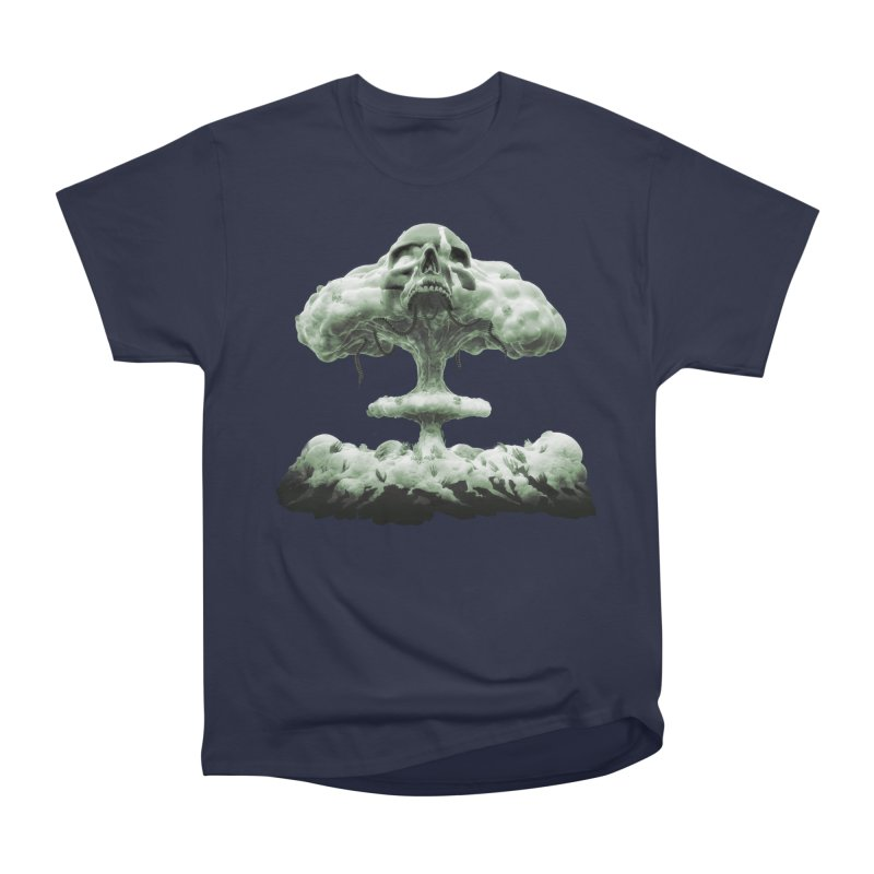 Nuclear Skull Cloud Men's Heavyweight T-Shirt by Lee Petty Art Stuff!