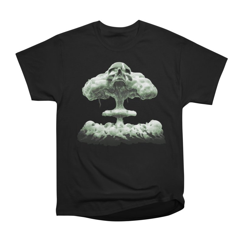 Nuclear Skull Cloud Women's Heavyweight Unisex T-Shirt by Lee Petty Art Stuff!