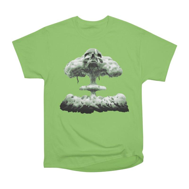 Nuclear Skull Cloud Women's Heavyweight Unisex T-Shirt by Lee Petty Art Stuff!