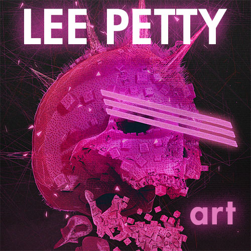 Lee Petty Art Stuff! Logo