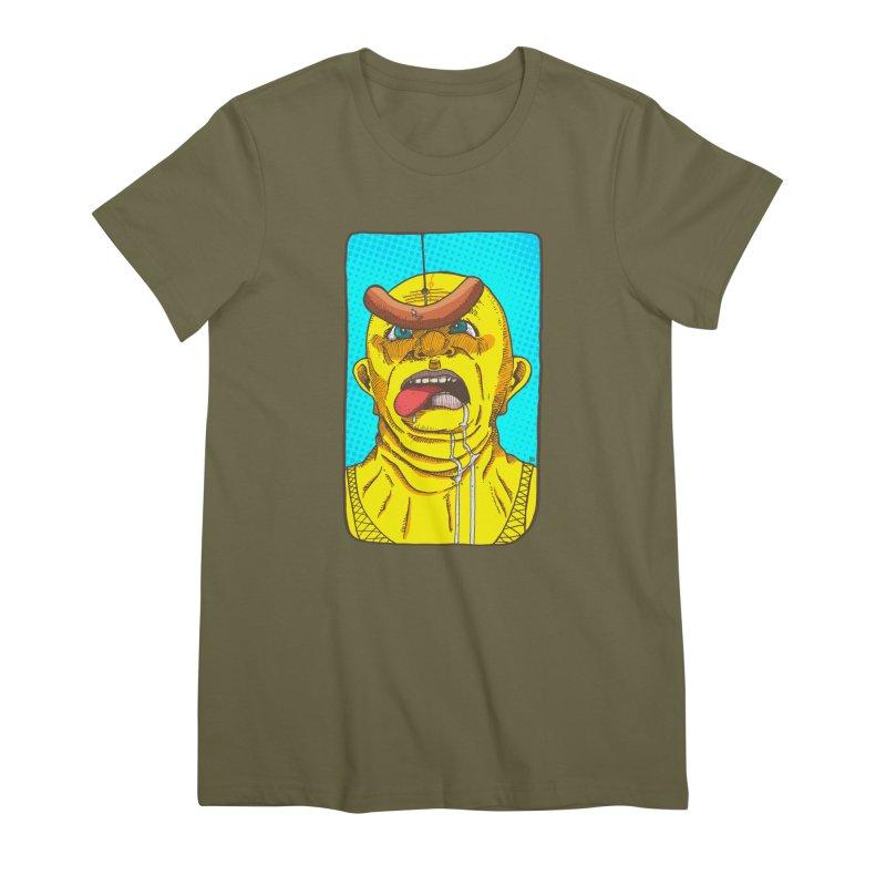 Drooling Women's Premium T-Shirt by leegrace.com