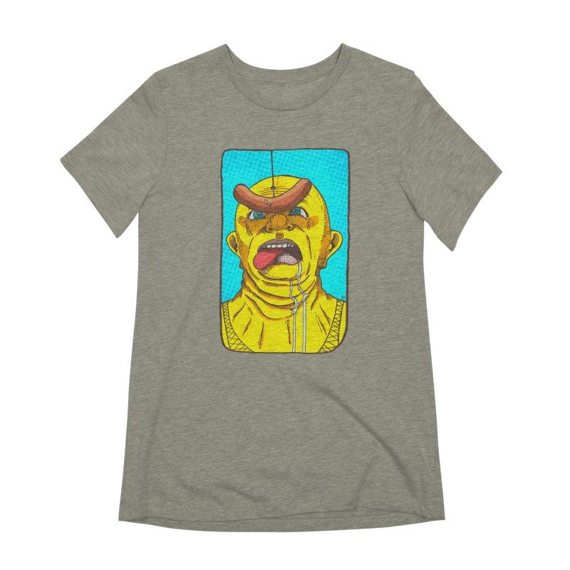 Drooling Women's Extra Soft T-Shirt by leegrace.com