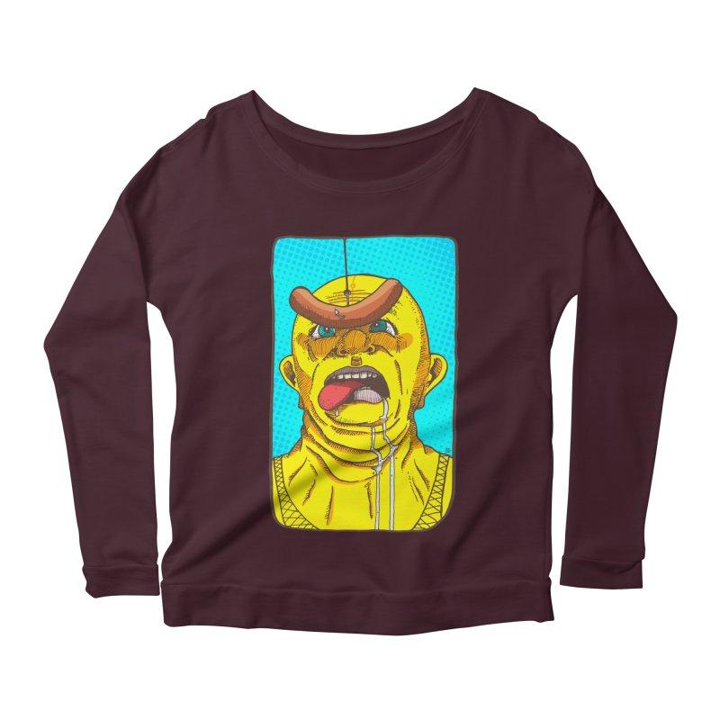 Drooling Women's Scoop Neck Longsleeve T-Shirt by leegrace.com