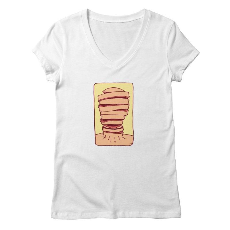 Slice Women's Regular V-Neck by leegrace.com