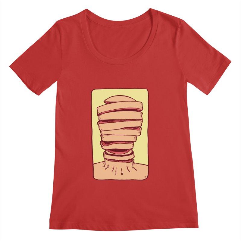 Slice Women's Regular Scoop Neck by leegrace.com
