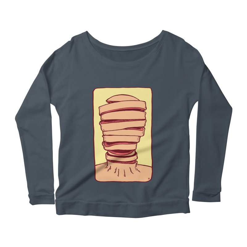 Slice Women's Scoop Neck Longsleeve T-Shirt by leegrace.com