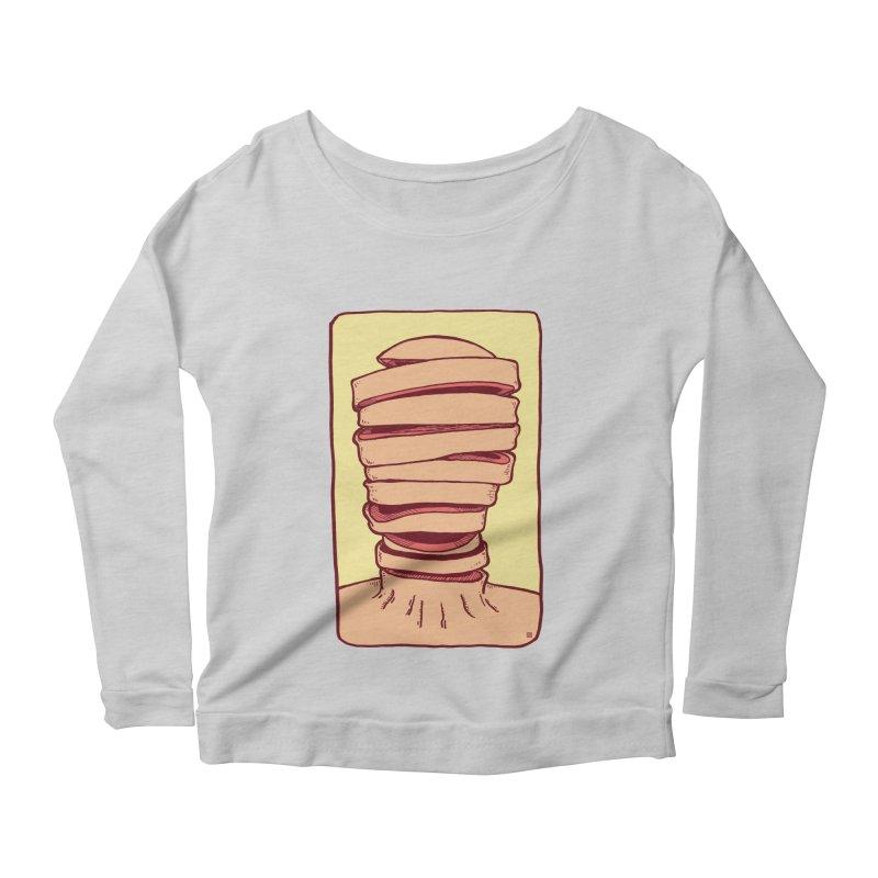 Slice Women's Scoop Neck Longsleeve T-Shirt by leegrace.com