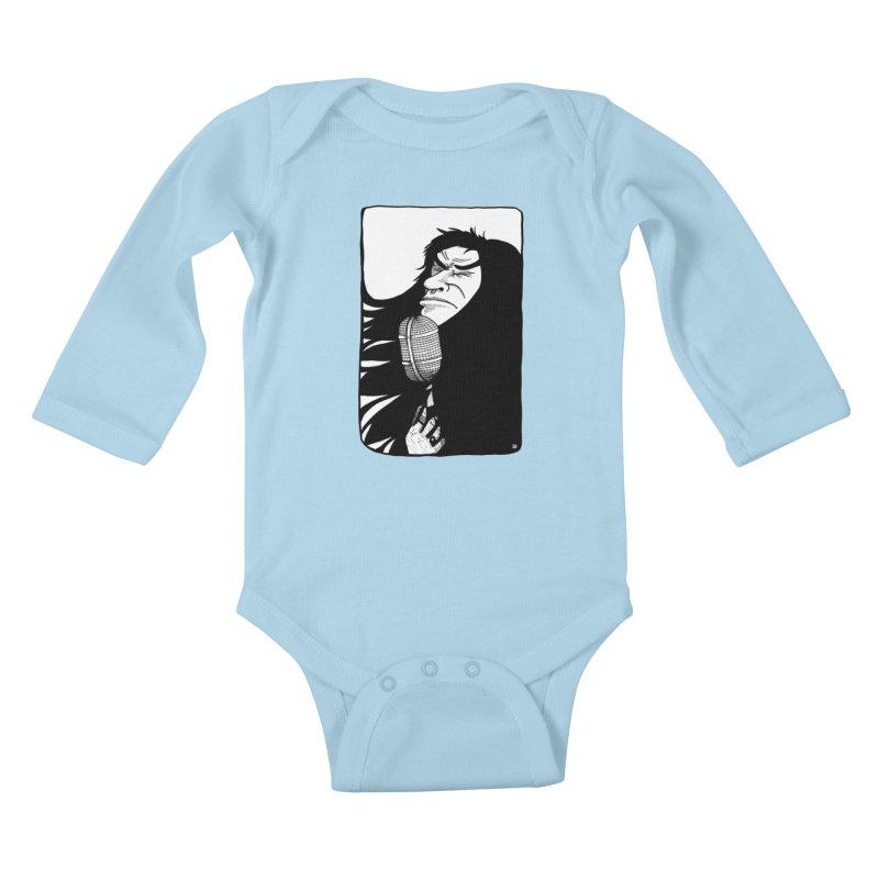 Star Kids Baby Longsleeve Bodysuit by leegrace.com
