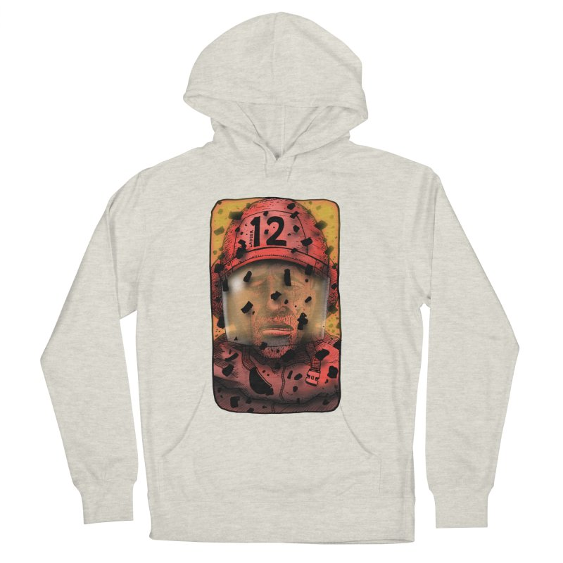 Exhausted Men's French Terry Pullover Hoody by leegrace.com