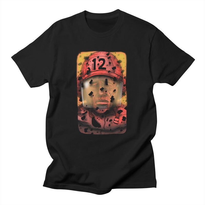 Exhausted Women's Regular Unisex T-Shirt by leegrace.com