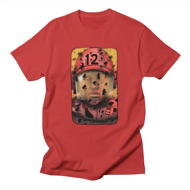 Exhausted Men's Regular T-Shirt by leegrace.com
