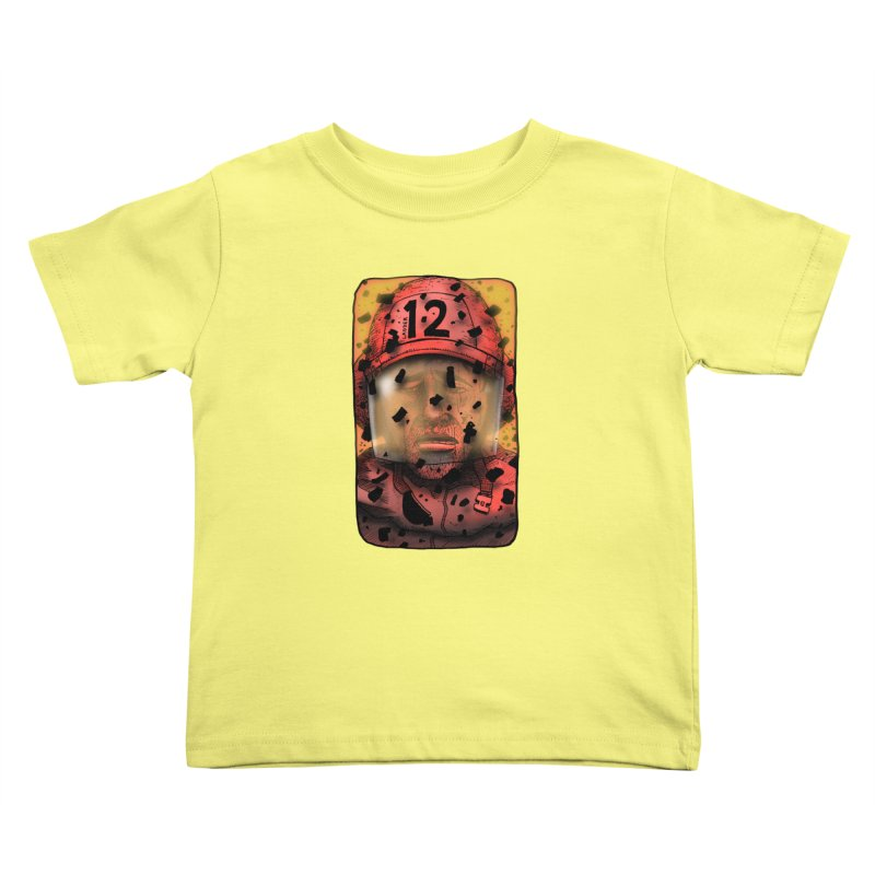 Exhausted Kids Toddler T-Shirt by leegrace.com