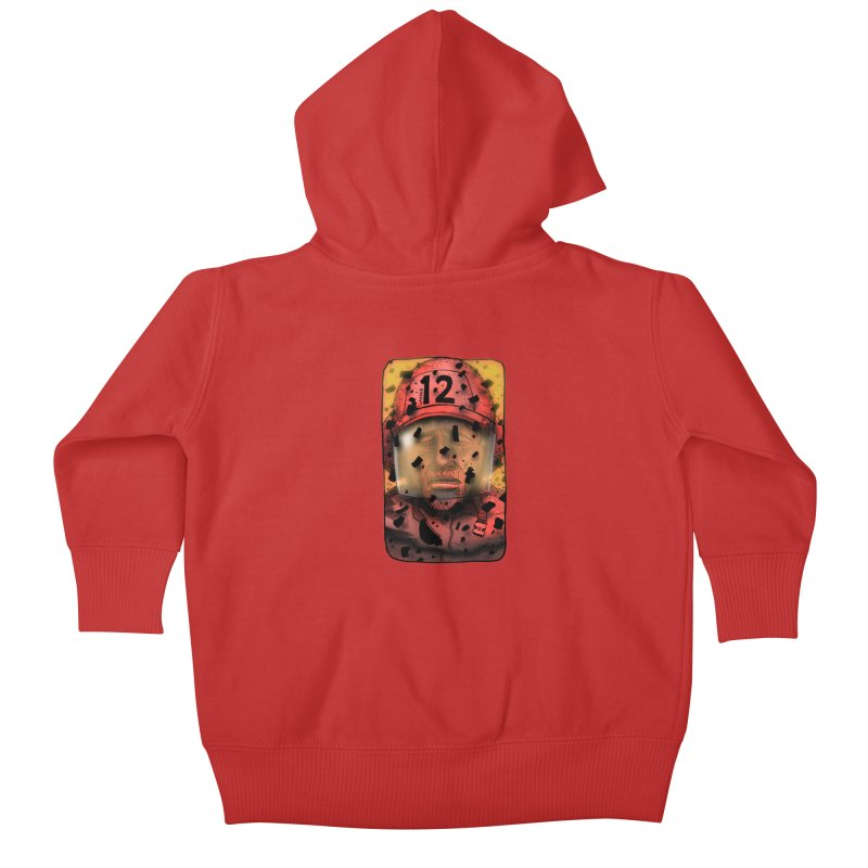 Exhausted Kids Baby Zip-Up Hoody by leegrace.com
