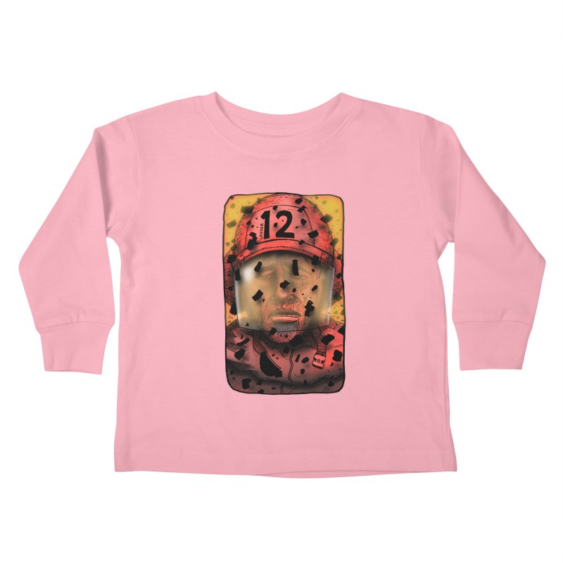 Exhausted Kids Toddler Longsleeve T-Shirt by leegrace.com