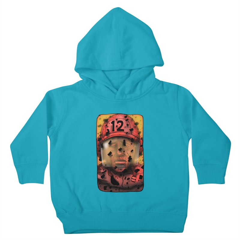 Exhausted Kids Toddler Pullover Hoody by leegrace.com
