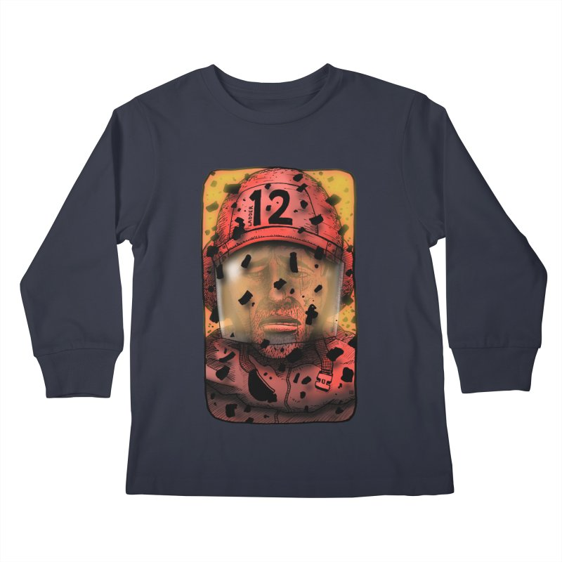 Exhausted Kids Longsleeve T-Shirt by leegrace.com